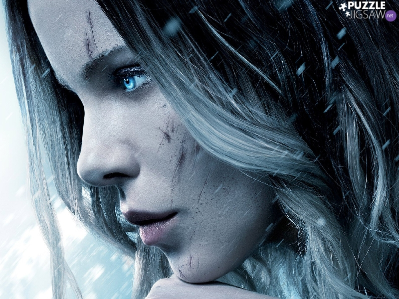 wounds, face, Underworld: Blood Wars, profile, Kate Beckinsale