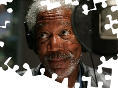 Morgan Freeman, black, actor