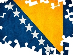flag, Bosnia and Herzegovina