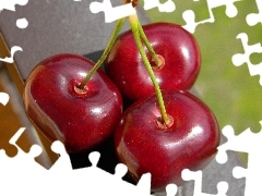 cherries, Three, Mature