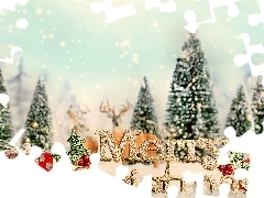 winter, Wishes, christmas, text