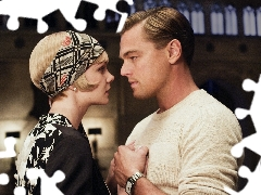 Leonardo DiCaprio, Carey Mulligan, large, Gatsby, movie