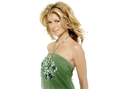 Marisa Miller, Green, dress, The look