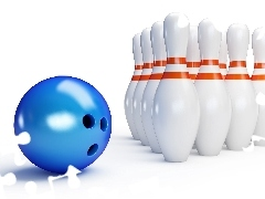 graphics, bowling, Sport, 3D, Orb