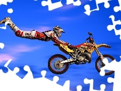 Motorbike, jumps, extreme, Motocross