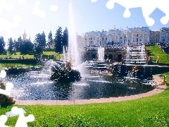 Russia, palace, fountain