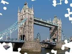 London, bridge, Tower Bridge